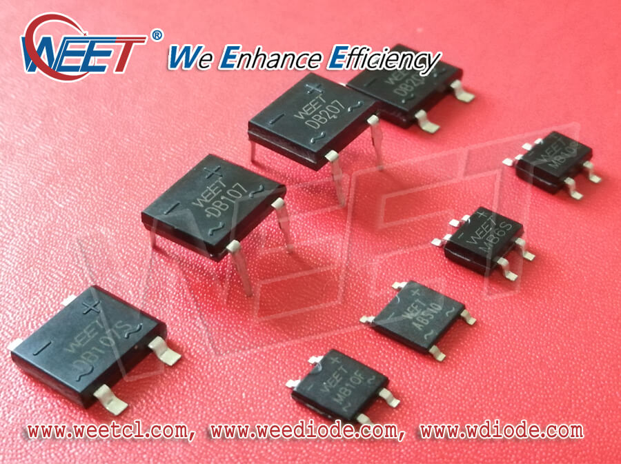 WEET Share the Best Bridge Rectifier devices Manufacturers In China: WEE Technology, Yangjie, ASEMI