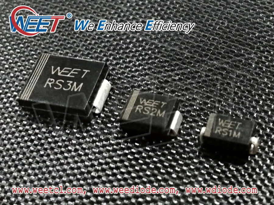 WEET Share the Regional Distribution of Diode, Rectifier, Transistors and Bridge Rectifiers In China
