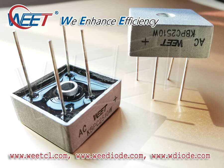 WEET Think Rectifying Circuit and Working Voltage are Critical on Determining a Qualified Diode
