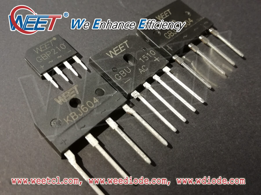 WEET Guide us How to Connect the WEET SMD Round and Square Package Bridge Rectifiers