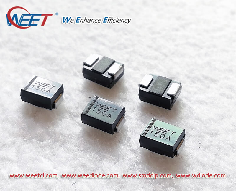 50x BZW06-5V5 Unidirectional transient voltage suppressor ST Microelectronics