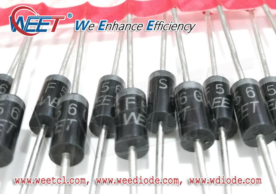 WEET Analyze Point Contact Diode Structure and The Internals of the Lead Frame SMD Diode Design